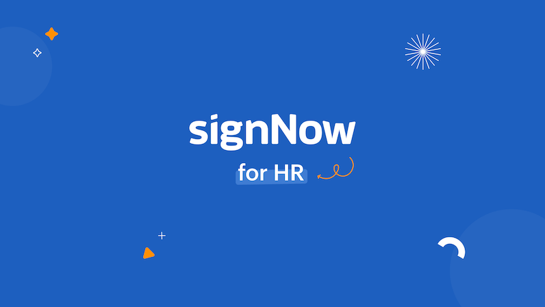signNow for Human Resources